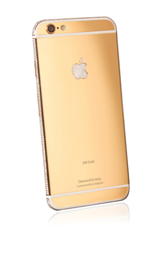 Medium gold genie gold iphone 6 diamond encrusted ecstasy 24k gold 64gb