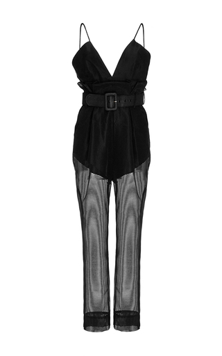 Black Justify My Love Jumpsuit by ALICE MCCALL Now Available on Moda Operandi