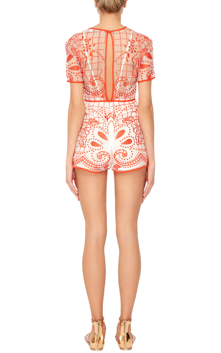5e6ab86323 Alice McCallSpace is the Only Noise Lace Playsuit. CLOSE. Loading. Loading