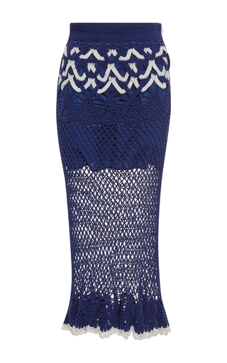 It's My Turn Cotton Crochet Skirt | Moda Operandi