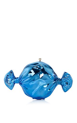 Medium judith leiber blue blueberry candy clutch
