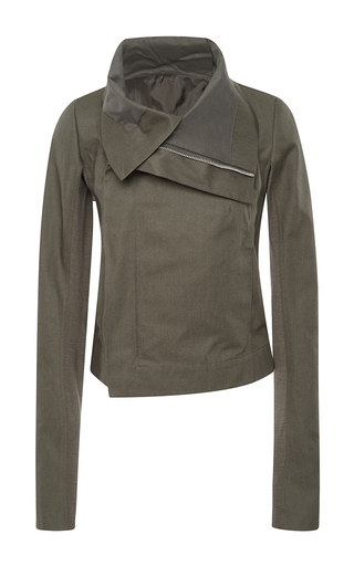 Clean Biker Jacket by RICK OWENS Now Available on Moda Operandi