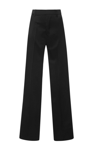 Wide Legged Dietrich Pants by RICK OWENS Now Available on Moda Operandi