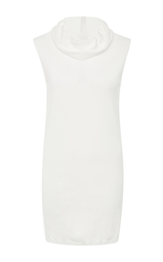 Cotton Dropped Neck Top by RICK OWENS Now Available on Moda Operandi