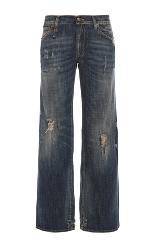 Medium r13 denim medium wash the jane ripped flared jeans in old vintage