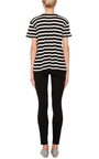 Cotton Cashmere Short Sleeved Striped Tee by R13 Now Available on Moda Operandi
