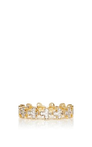 Medium alison lou gold club bling ring
