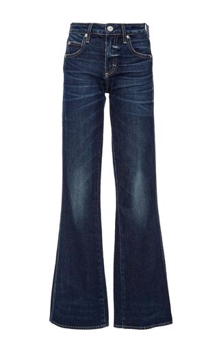 Kick High Waisted Flared Jeans by AMO | Moda Operandi