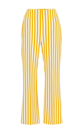 Medium clover canyon yellow yellow striped suiting pant