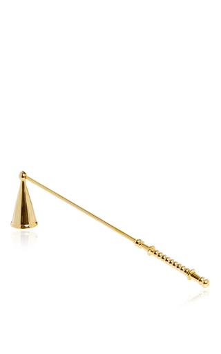 The Golden Candle Snuffer  by FEU DE BEAUMONT Now Available on Moda Operandi