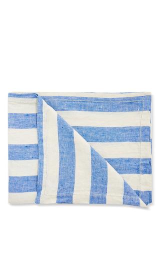 Medium frescobol carioca multi striped linen beach towel