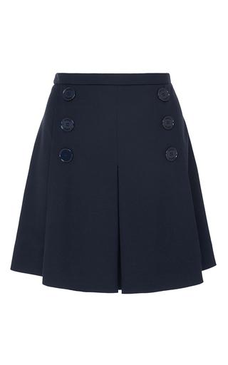 Medium sonia by sonia rykiel navy technical jersey skirt