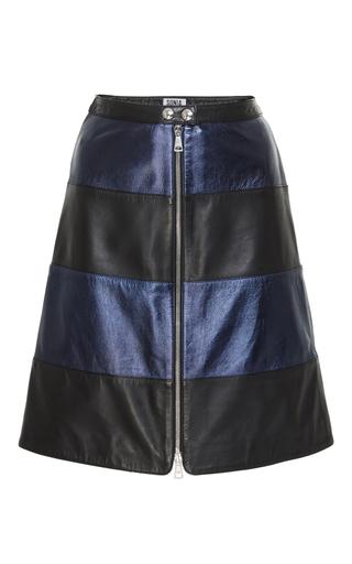 Medium sonia by sonia rykiel black metallic leather skirt