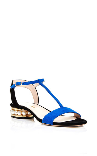 Medium nicholas kirkwood blue casati pearl sandal