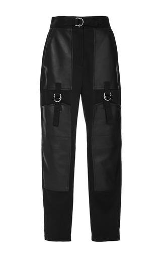 Medium alexander wang black high waisted cargo pant