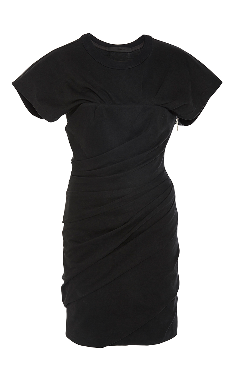 Draped Bustier T Shirt Dress By Alexander Wang Moda Operandi
