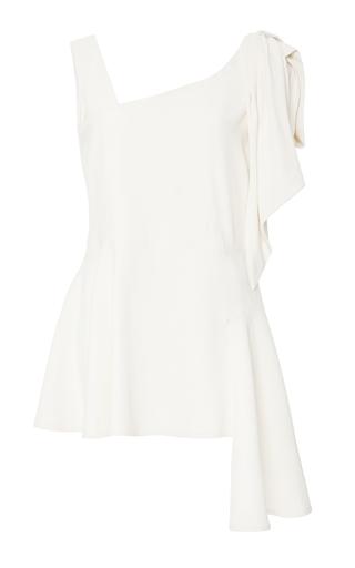 Medium marni white ivory draped satin blouse