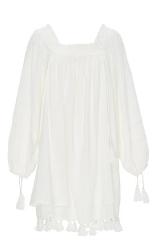 Medium apiece apart white white cotton gauze tewa dress