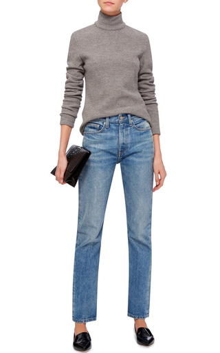 Wright Light Vintage High Rise Jeans by BROCK COLLECTION Now Available on Moda Operandi