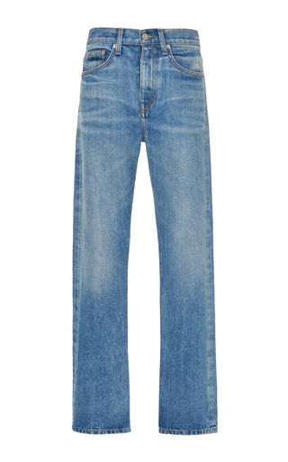Light Vintage Wright Jeans by BROCK COLLECTION Now Available on Moda Operandi