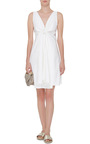 Cotton Knot Front Dallas Dress by BROCK COLLECTION Now Available on Moda Operandi