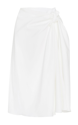 Medium brock white cotton sienna skirt