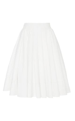Medium brock white eyelet cotton sally skirt