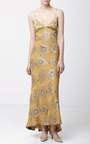 Floral Silk Jacquard Delhi Dress by BROCK COLLECTION Now Available on Moda Operandi