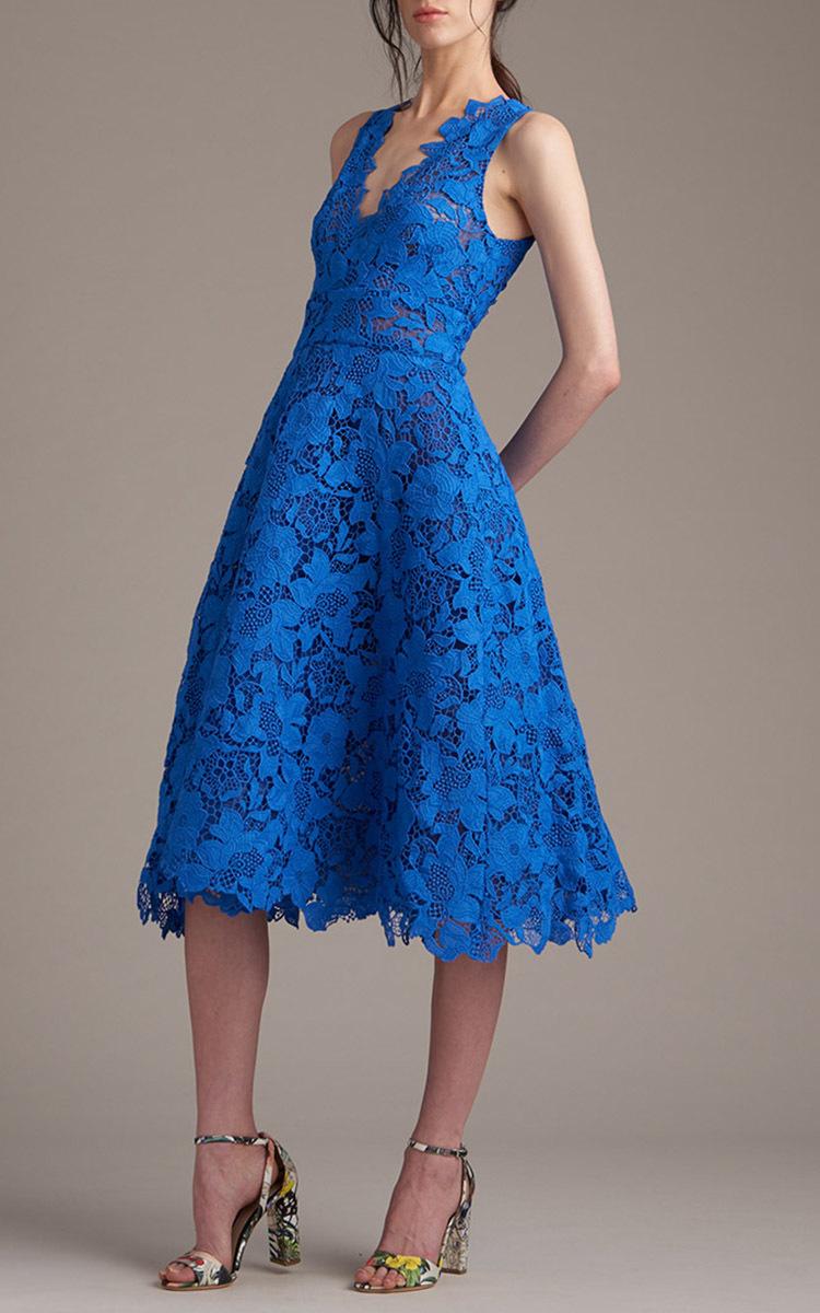 Blue Tea Dresses
