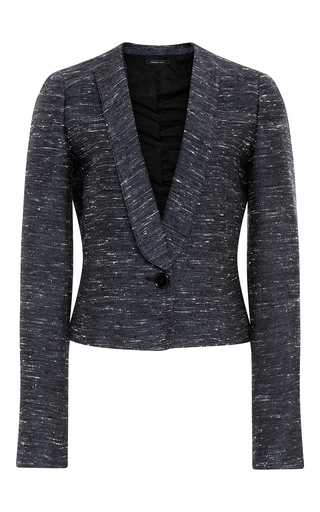 Silk Cotton Tweed Blend Jacket by DEREK LAM Now Available on Moda Operandi