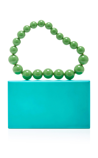Perspex Pandora Box With Necklace Handle by CHARLOTTE OLYMPIA Now Available on Moda Operandi