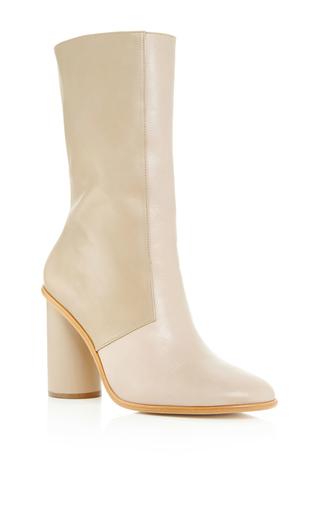 Medium tibi tan rory nappa leather boot