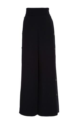 Medium temperley london black nico wide leg cropped trousers
