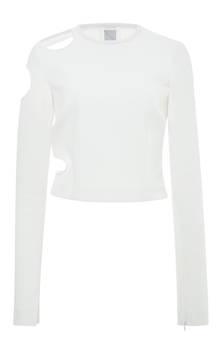 Medium rosie assoulin white matisse cut out top