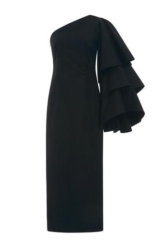 Medium rosie assoulin black bidi bidi bom bom tea length dress