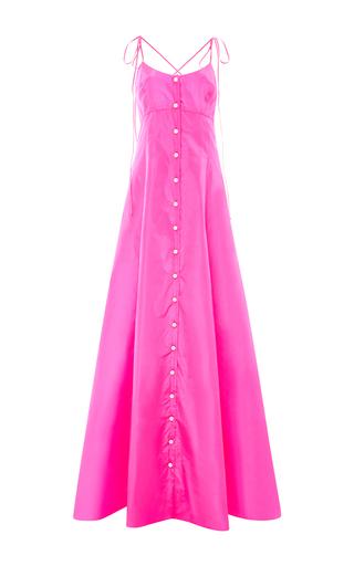 Silk Taffeta High Garden Gown by ROSIE ASSOULIN Now Available on Moda Operandi