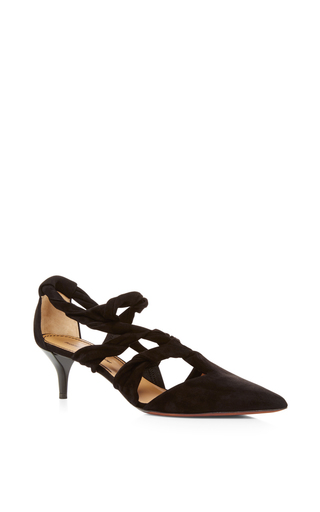 Knotted Pointed Toe Kitten Heels by Proenza Schouler | Moda Operandi