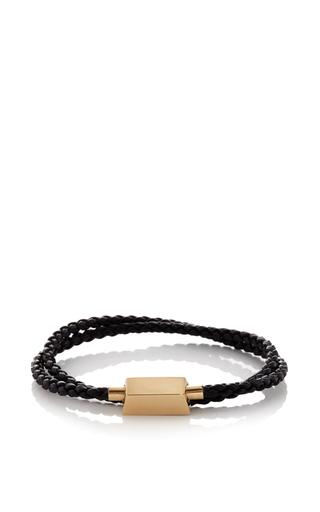 Medium bulliony gold 18k yellow gold choker bracelet  2