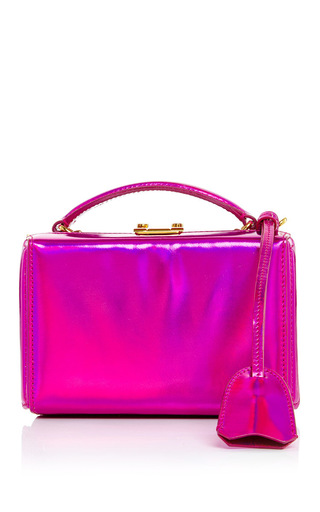 Medium mark cross pink grace mini box bag in pink rainbow