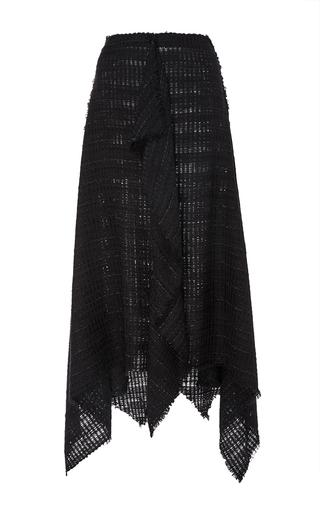 Open Weave Tweed Skirt With Handkerchief Hem by PROENZA SCHOULER Now Available on Moda Operandi