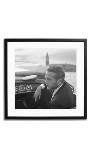Medium sonic editions black made to order newman venice black and white photograph