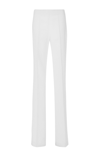 White High Waisted Long Pants by ANTONIO BERARDI Now Available on Moda Operandi