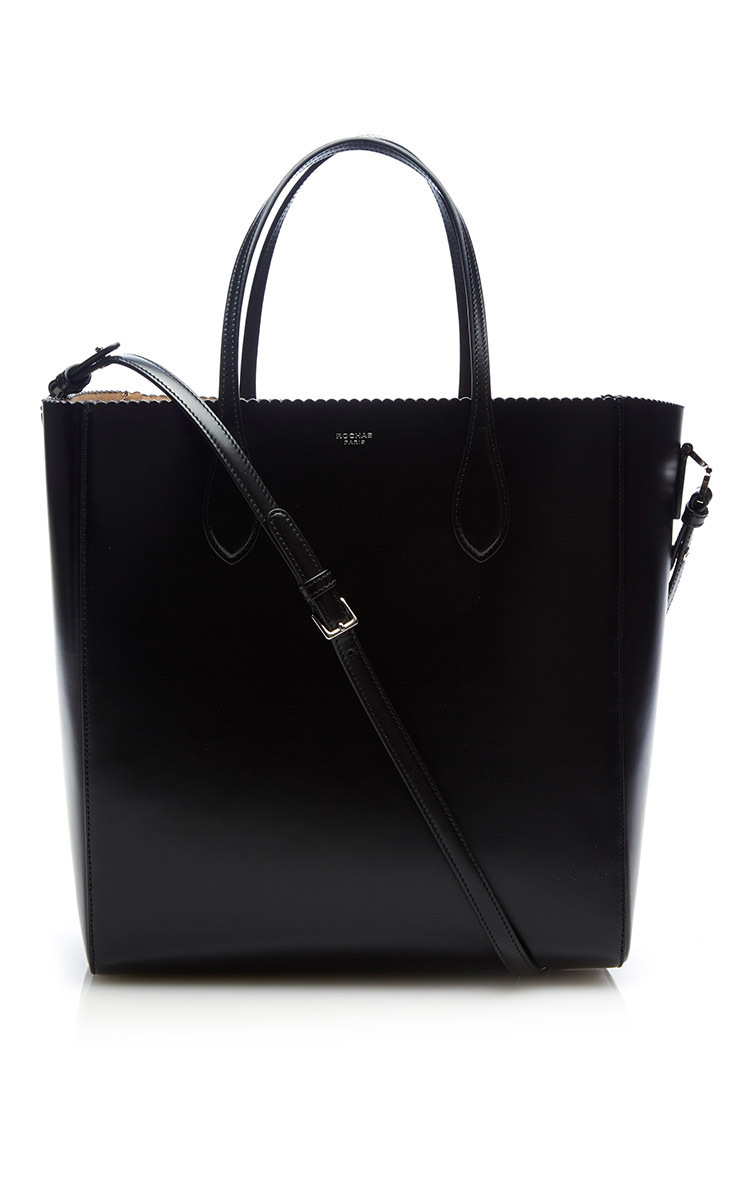 RochasTall Leather Tote Bag. CLOSE. Loading