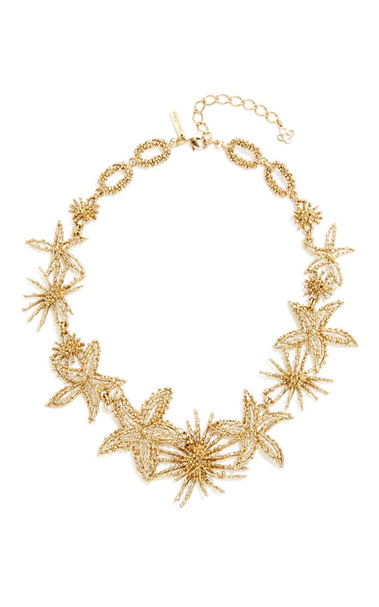 Gold Starfish Necklace by Oscar de la Renta Moda Operandi