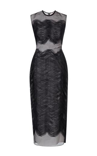 Medium roksanda ilincic black arley embroidered dress