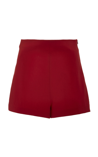 Medium rosetta getty red stretch compact twill high rise shorts