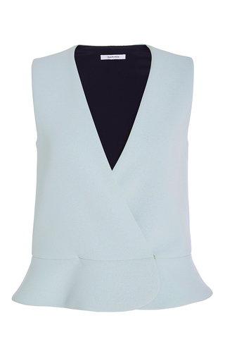 Double Crepe Top by CARVEN Now Available on Moda Operandi