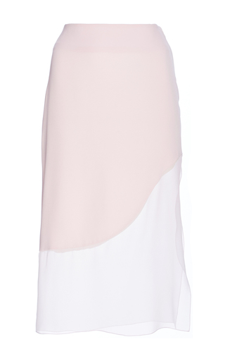 Silk Crepe Satin Back Pencil Skirt by PRABAL GURUNG Now Available on Moda Operandi