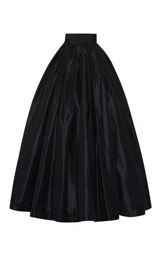 Medium naeem khan black taffeta ball skirt