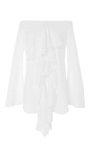 Medium ellery white debauch top